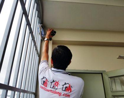 Lắp đặt thiết bị báo trộm, camera Quận Tân Bình. HCM