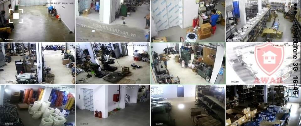 lắp đặt camera giám sát nhà xưởng