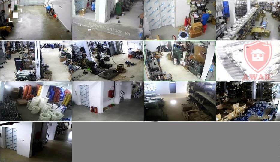 Hình ảnh xuất ra từ đầu ghi hình Escort 6816 5in1 ( xem qua điện thoại)