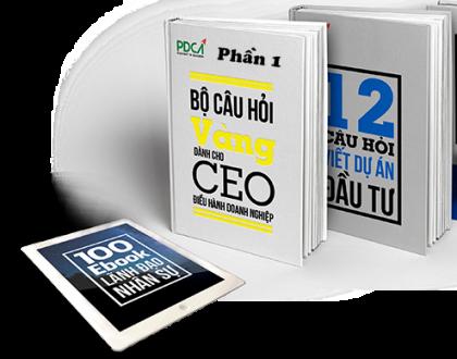 CÂU HỎI VÀNG CHO CEO DOANH NGHIỆP (phần 1)