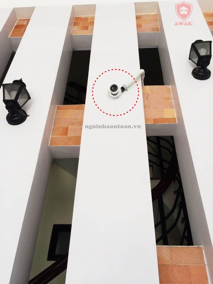 Camera quan sát dạng dome ốp tường