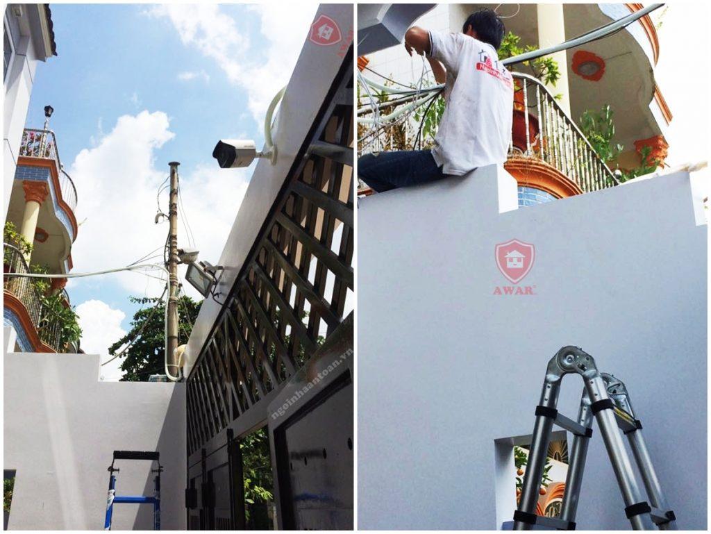 Lắp đặt camera tại nhà phố quận tân phú hcm