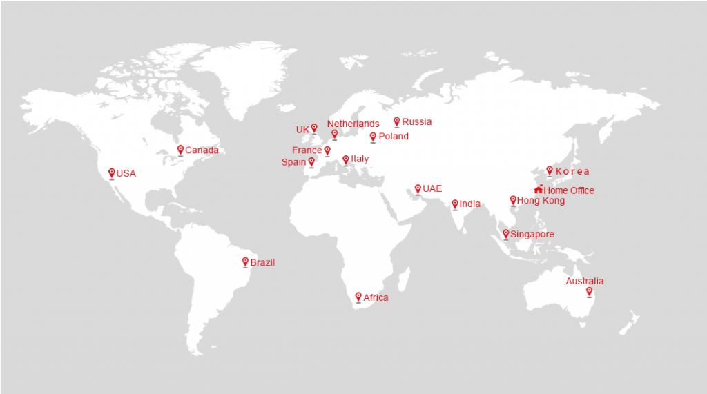 Hikvision bán trên khắp thế giới
