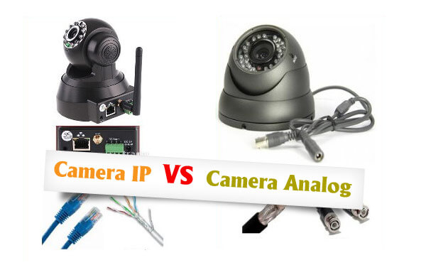 So sánh camera quan sát IP và AHD