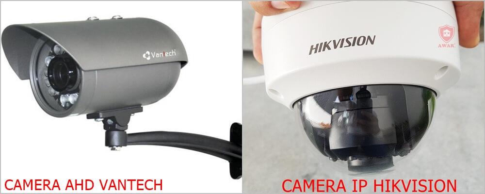 camera quan sát IP và AHD