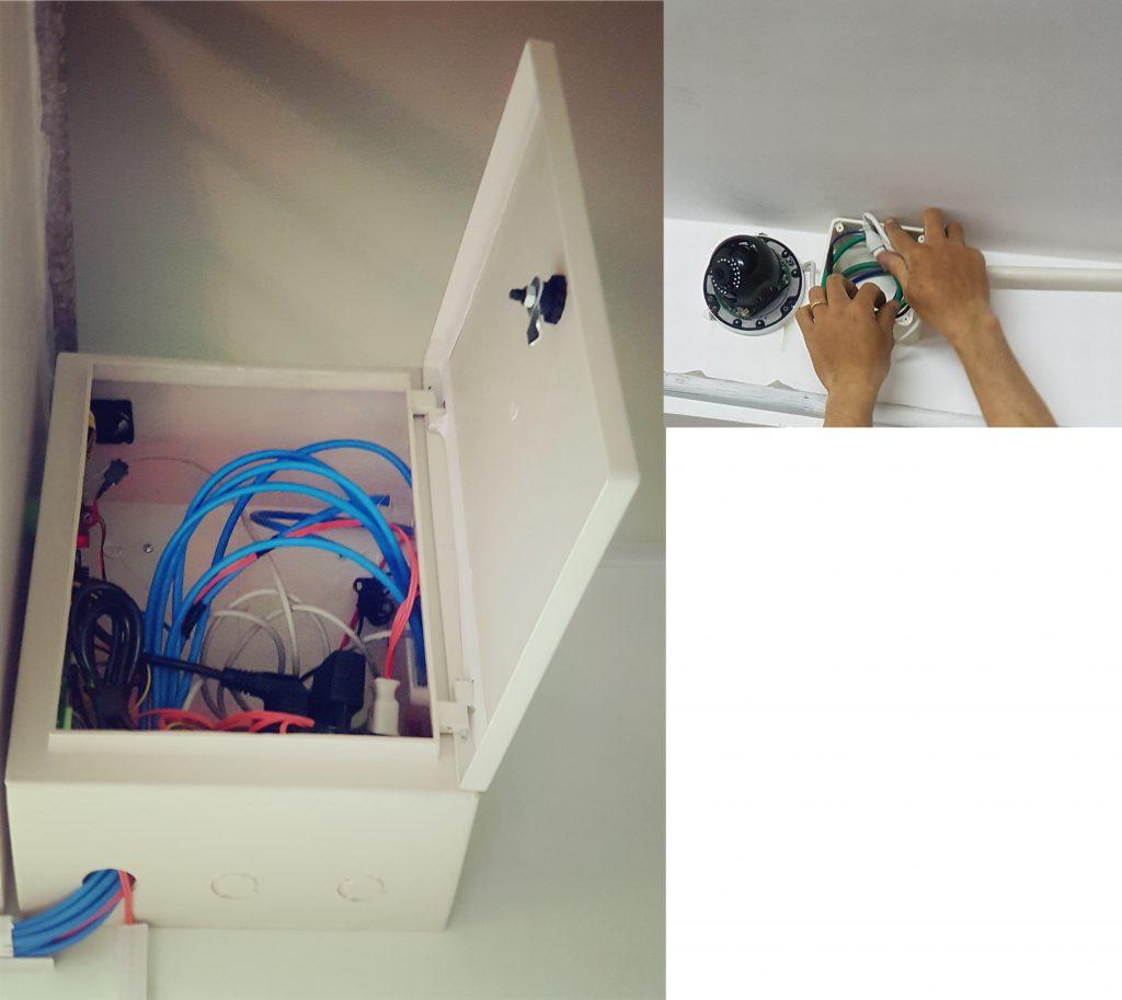 tủ nhựa ABS đựng thiết bị camera