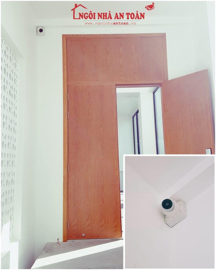 Lắp đặt camera trong nhà quận Hóc Môn