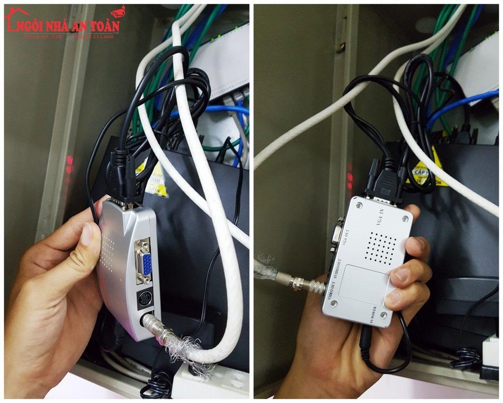 bộ chia camera kết nối tivi