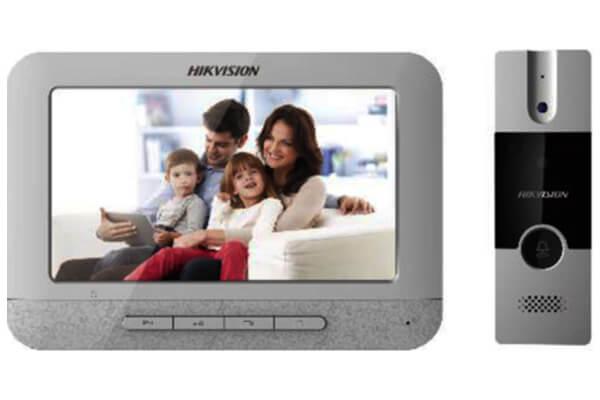 camera chuông cửa màn hình Hikvision