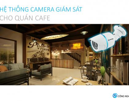 Tư vấn lắp đặt camera giám sát quán cafe