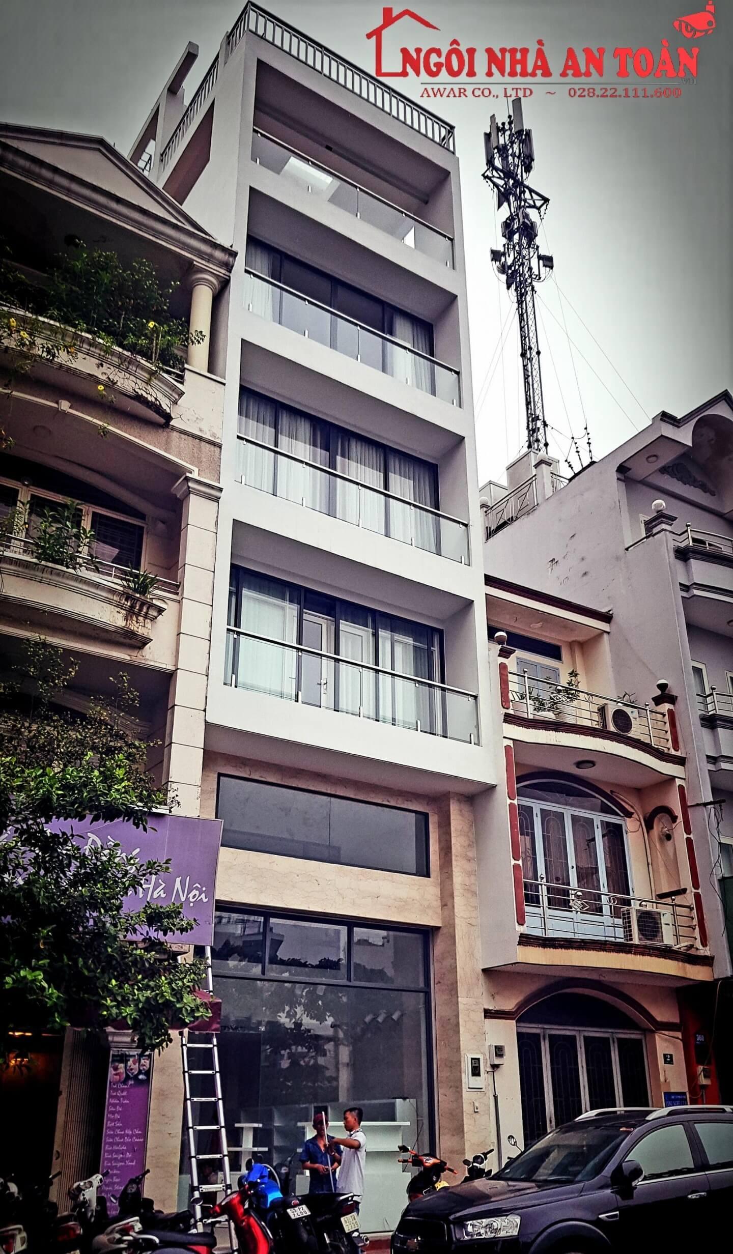 Lắp đặt camera nhà phố Phú Nhuận
