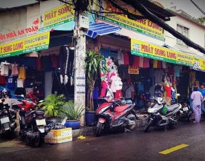 Lắp đặt camera [cửa hàng quần áo] quận Tân Bình