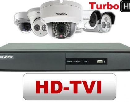 Camera HD-TVI là gì? So sánh giữa HD-TVI với AHD, IP