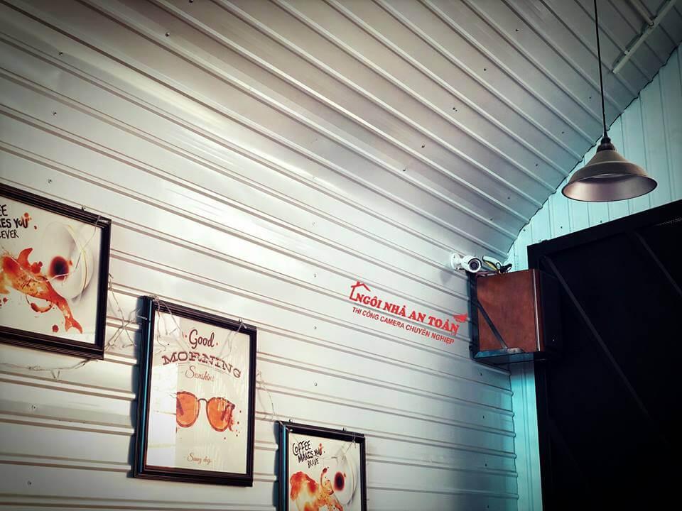 LẮP ĐẶT CAMERA QUÁN CAFE