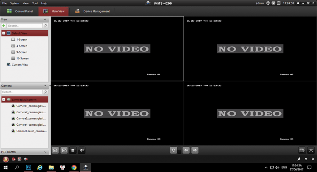 đổi mật khẩu camera bằng phâng mềm Ivms-4200