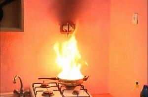 bong chua chay bếp gas elide fire ball