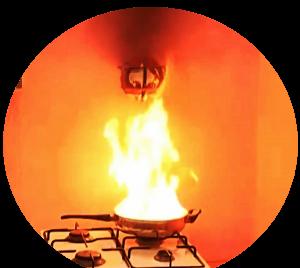 bóng chữa cháy tự động