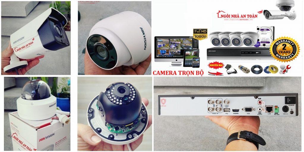Hệ thống camera quan sát trọn bộ