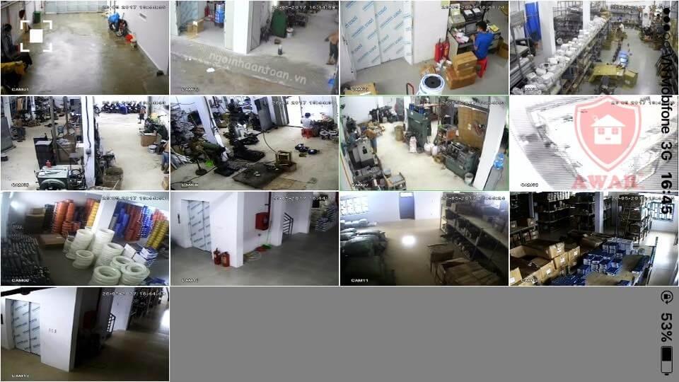 lắp đặt camera nhà xưởng Bình Chánh