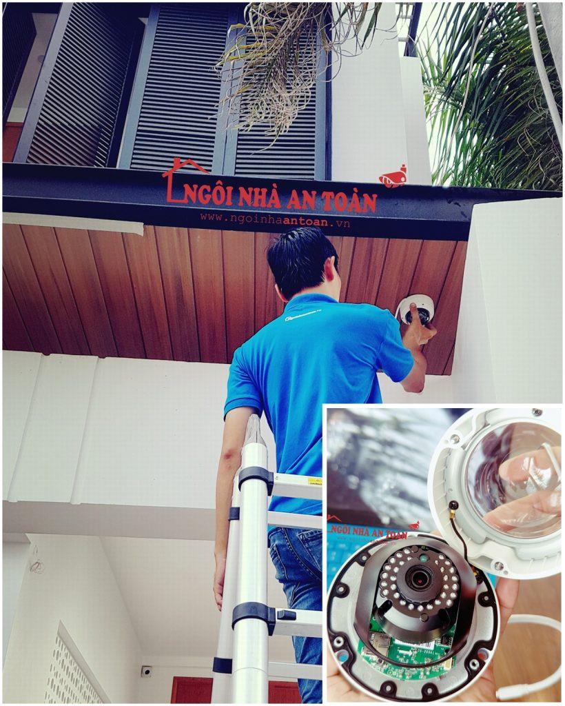 Lắp đặt camera tại nhà quận Hóc Môn
