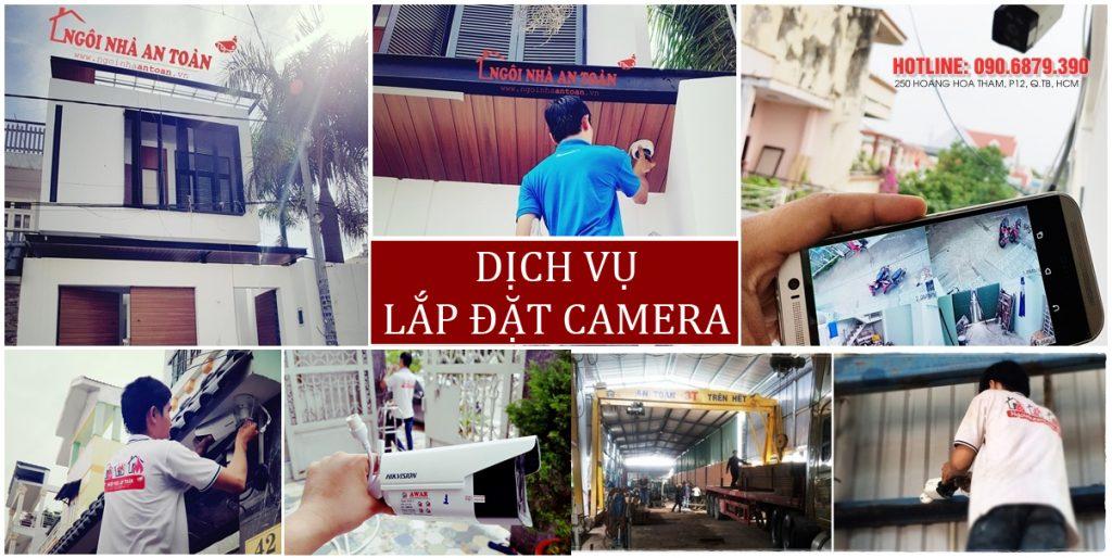 Lắp đặt camera giám sát nhà xưởng bởi Ngôi nhà an toàn