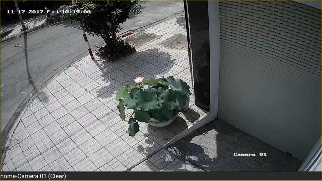 hình ảnh camera chống ngược sáng