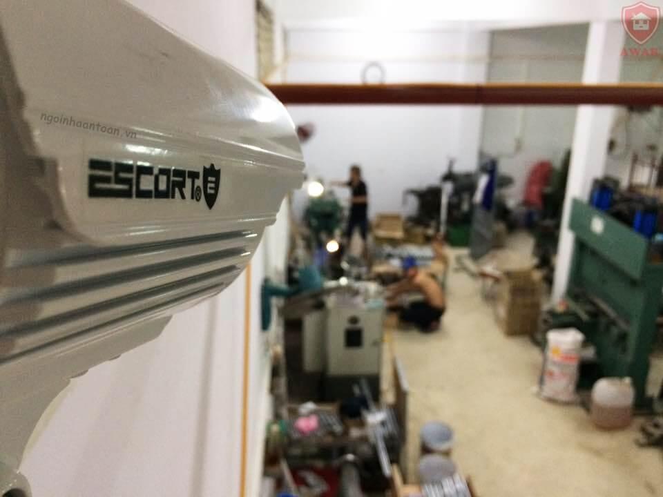 Lắp đặt camera giám sát khu vực sản xuất nhà xưởng