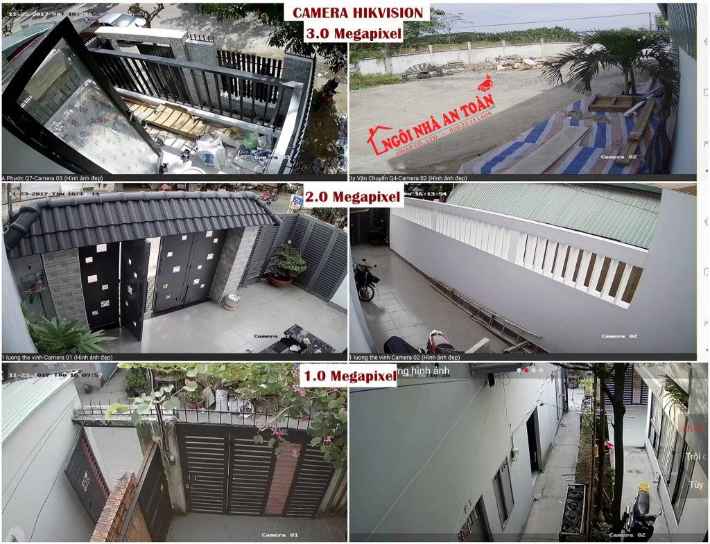 So sánh hình ảnh camera Hikvision