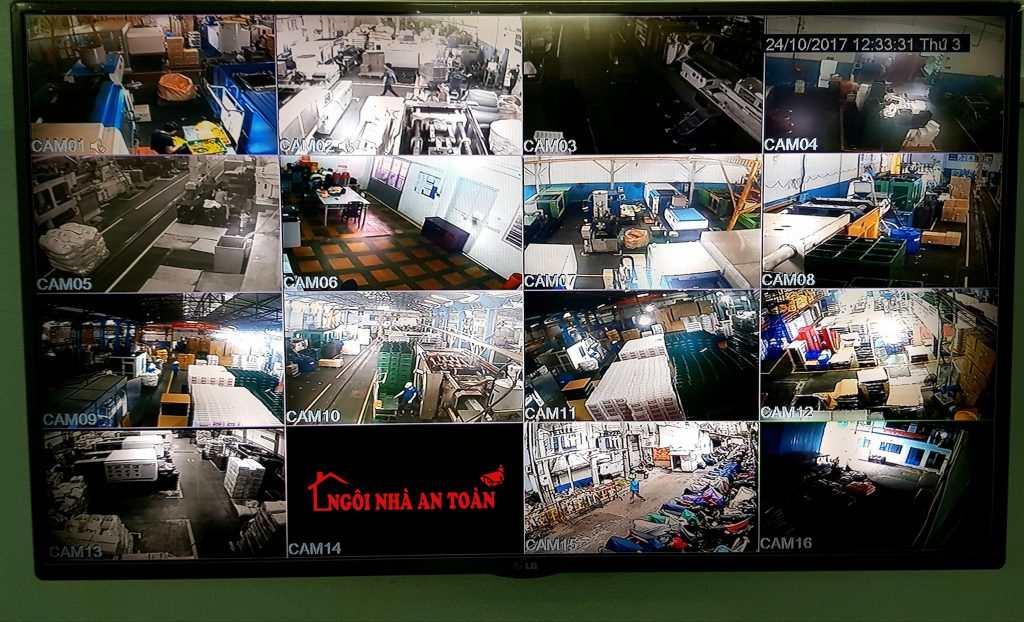 Lắp đặt camera nhà xưởng nhựa tân phú