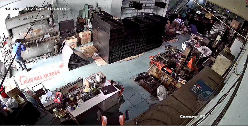 Camera nhà xưởng