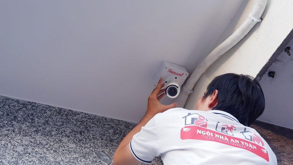 Giải pháp lắp đặt camera an ninh toàn diện chi phí thấp tại Ngôi nhà an toàn