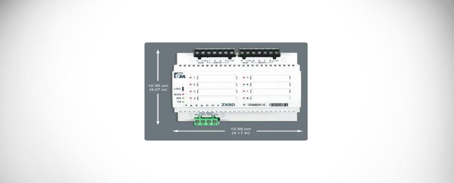 THẺ MỞ RỘNG 16 ZONE PARADOX ZX-16D