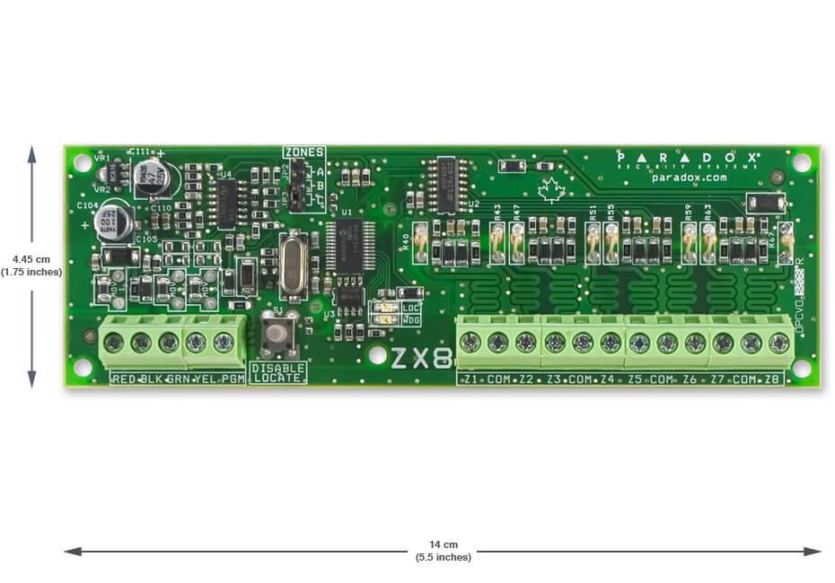 THẺ MỞ RỘNG 8 ZONE PARADOX ZX-8