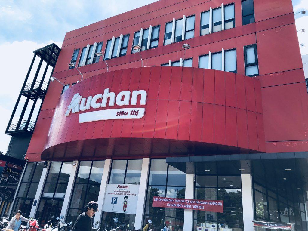lắp đặt camera siêu thị Auchan