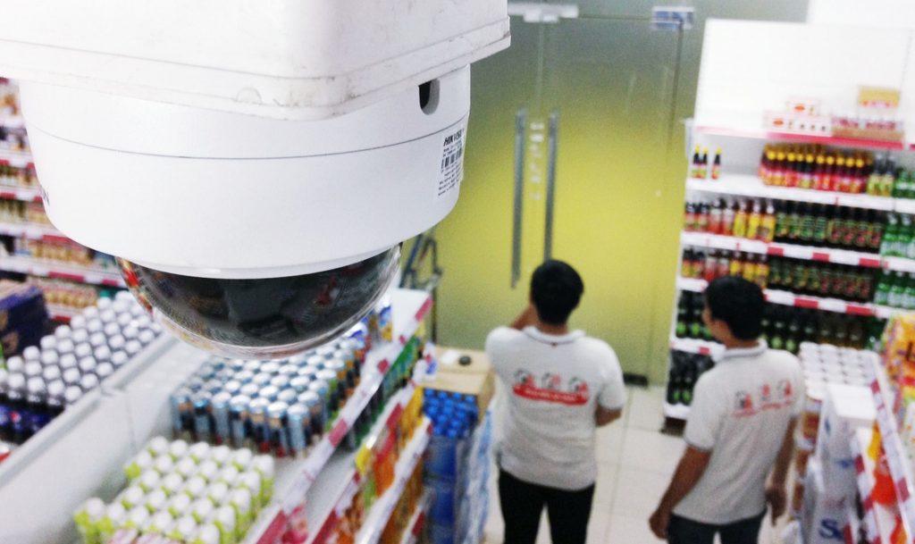 lắp đặt camera siêu thị
