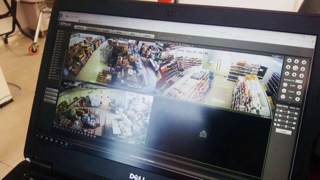Lắp đặt camera văn phòng siêu thị