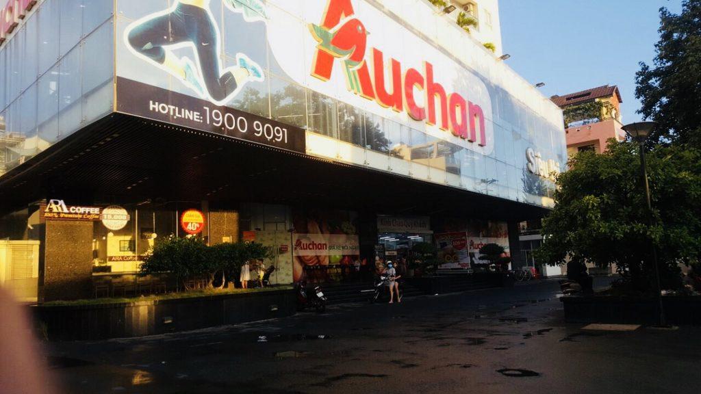 lắp đặt camera siêu thị Auchan Gò Vấp