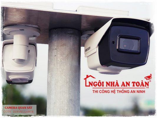 ngôi nhà an toàn Lắp đặt camera quan sát