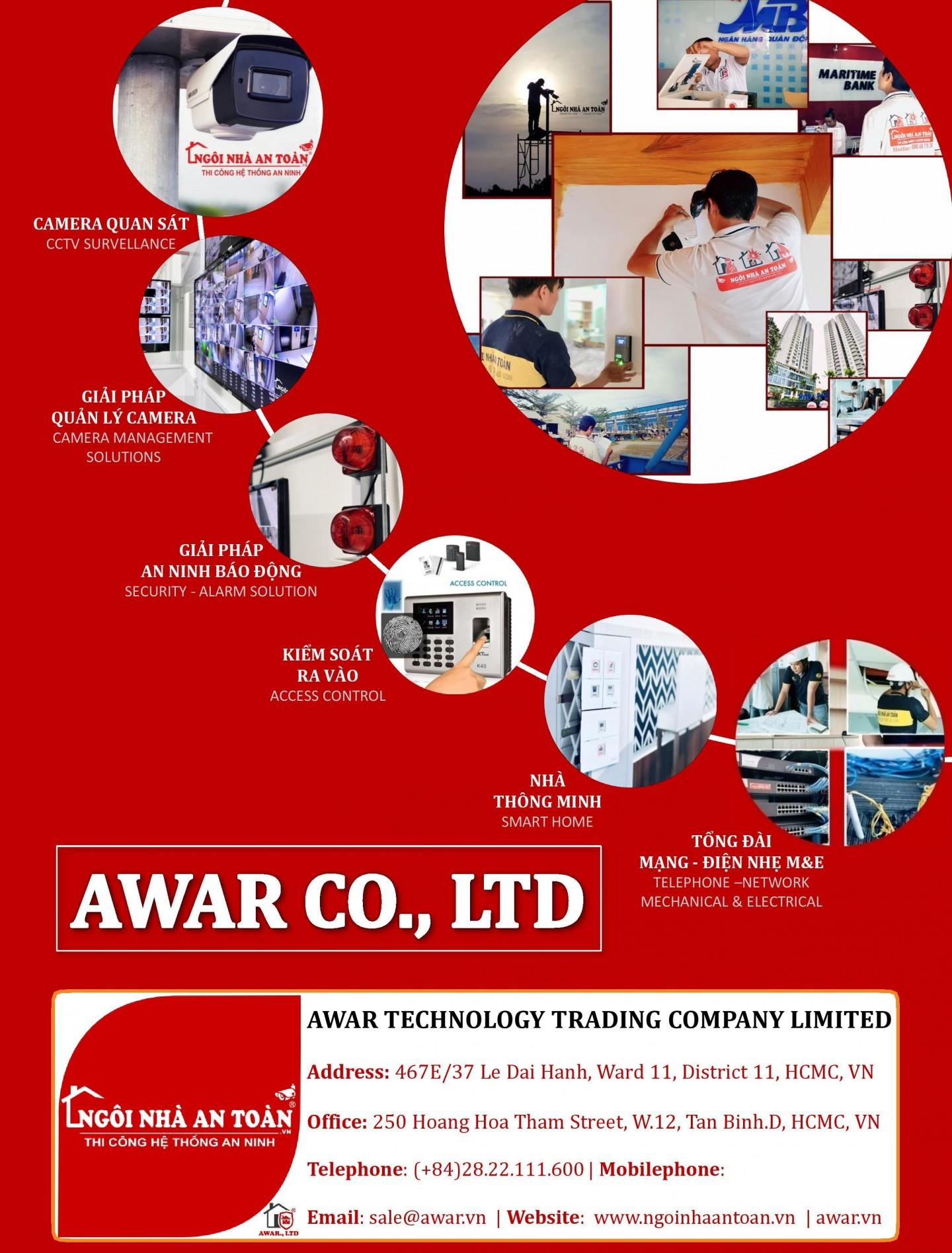 Hồ sơ năng lực công ty awar (ngôi nhà an toàn)