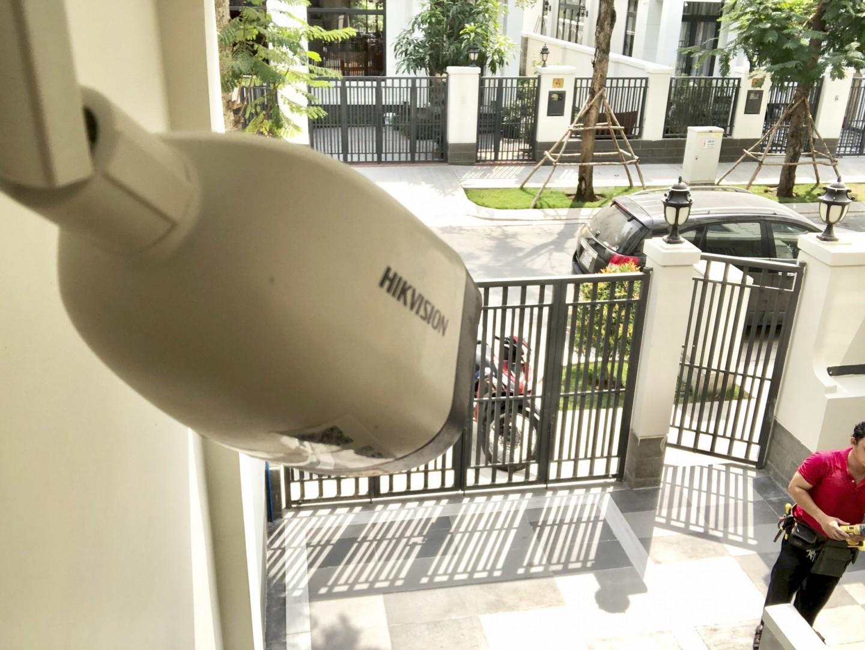 lắp đặt camera căn hộ