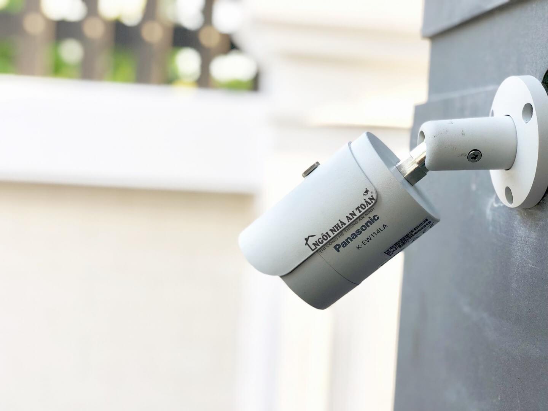 Lắp đặt camera cao cấp Panasonic K-EW114LA cho nhà phố